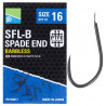 Preston SFL-B Barbless Spade End