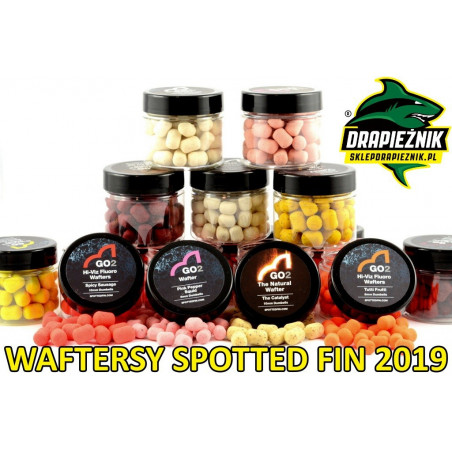 Waftersy Spotted Fin GO2 Hi-Viz Fluoro Wafters 10mm - Miracle Berry