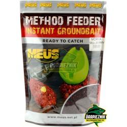 Zanęta MEUS Method Feeder Instant Groundbait 700g - Morwa
