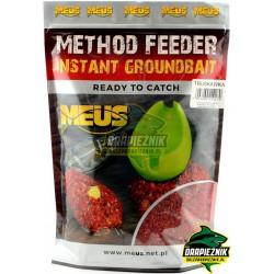 Zanęta MEUS Method Feeder Instant Groundbait 700g - Truskawka