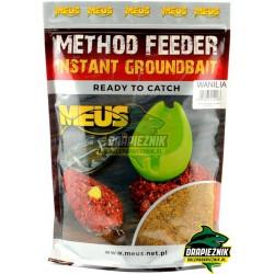 Zanęta MEUS Method Feeder Instant Groundbait 700g - Wanilia