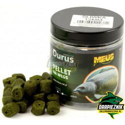 Pellet MEUS Durus na włos 12mm - Śliwka