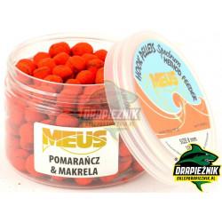 Pellet MEUS Spectrum na włos 8mm - Pomarańcza & Makrela
