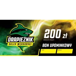 Bon Upominkowy - 200 zł