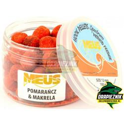 Pellet MEUS Spectrum na włos 12mm - Pomarańcza & Makrela