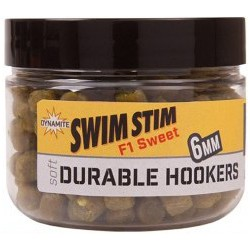 Dynamite Baits Soft Durable Hookers 6mm - F1 Sweet