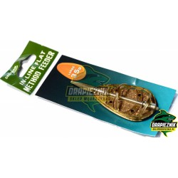 Koszyk zanętowy Drennan In-Line Flat Method Feeder 45g - LARGE