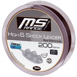 Żyłka MS RANGE High-S Shock Leader 200m