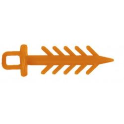 Igły MS RANGE Pin Up - Pomarańczowe