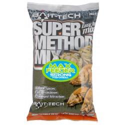 Zanęta Bait-Tech 2kg Super Method Mix MAX FEEDER