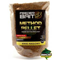 Pellet Feeder Baits 800g - Kwas Masłowy 2mm