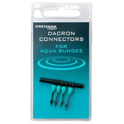 Łączniki Drennan Dacron Connectors - Aqua