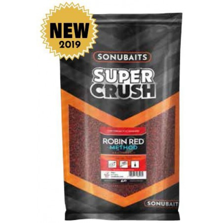 Sonubaits Supercrush - Robin Red Method Mix