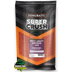 Sonubaits Supercrush - Spicy Meaty Method Mix