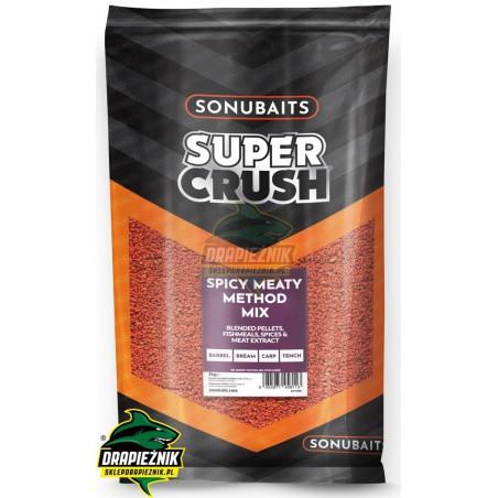 Sonubaits Supercrush - Spicy Meaty Method Mix