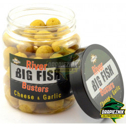 River Big Fish Busters 120g - Cheese & Garlic