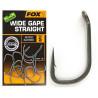 Haczyki Fox Edges Wide Gape Straight