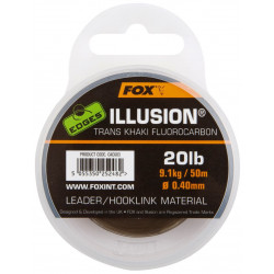 Materiał Fox Illusion Leader/Hooklink 50m