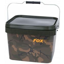 Wiadro Fox Camo Square Carp - 10 L