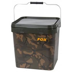Wiadro Fox Camo Square Carp - 17 L