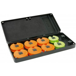 Organizer na przypony Fox F-BOX Magnetic Disc & Rig Box System - Medium