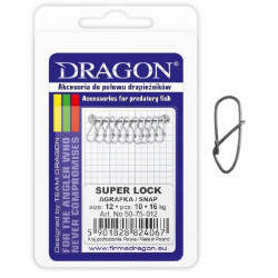 Agrafki Dragon Super Lock