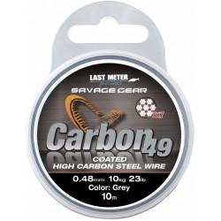 Materiał przyponowy Savage Gear CARBON 49 10m