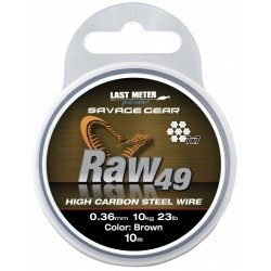 Materiał przyponowy Savage Gear RAW 49 10m