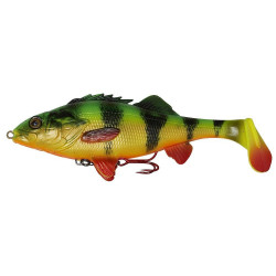 Savage Gear 4D Perch Shad 17.5cm - 02-Firetiger