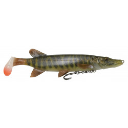 Savage Gear 4D Pike Shad 20cm - 01-Striped Pike