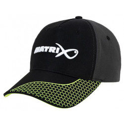 Czapka Matrix - Grey/Lime Baseball Cap