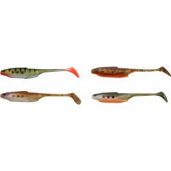 Westin Hollow Teez Shadtail 12cm - MIX Clear Water