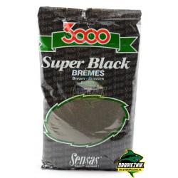Zanęta Sensas 1kg - 3000 Super Black Bremes