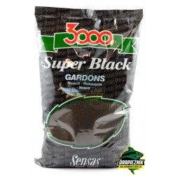 Zanęta Sensas 1kg - 3000 Super Black Gardons