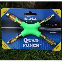 Wykrojniki NuFish Quad Punch