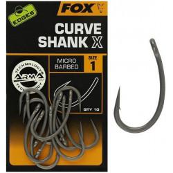 Haczyki Fox Edges Curve Shank X