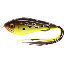 Westin Swim Hollowbody 9cm - Brown/Chartreuse Frog