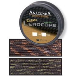 Leadcore Anaconda Camou Leadcore 10m - Camou Brown