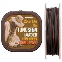 Tungsten Loaded ESP 10m Semi Stiff - Camo Brown