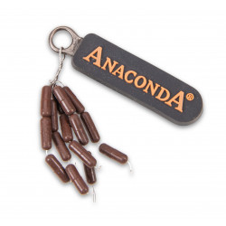 Stopery Anaconda Rig Weights 3.1mm - BROWN