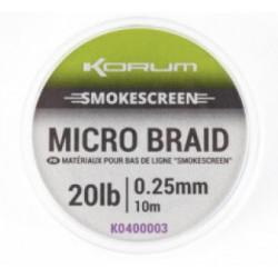 Plecionka Korum Smokescreen Micro Braid 10m