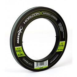Strzałówka Matrix Horizon X Tapered Leaders 0.22-0.28mm