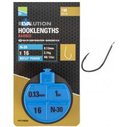 Przypony Preston REVALUTION Hooklengths 100cm N-30