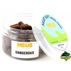 Pellet MEUS Sinking miękki na włos 10mm - Dangerous
