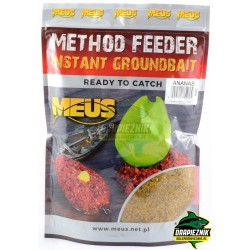 Zanęta MEUS Method Feeder Instant Groundbait 700g - Ananas