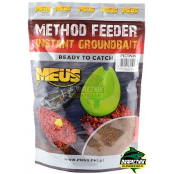 Zanęta MEUS Method Feeder Instant Groundbait 700g - Piernik