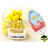 Kulki MEUS Boilie Fluo Wafters Challange 12mm - Lemon Shock