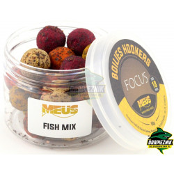 Kulki MEUS Focus Sinking na włos 18mm - Fish Mix