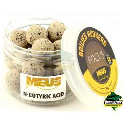 Kulki MEUS Focus Sinking na włos 18mm - N-Butyric Acid