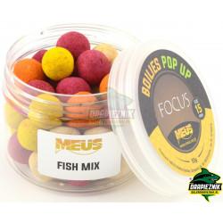 Kulki MEUS Focus POP-UP na włos 15mm - Fish Mix
